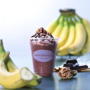 期間限定「チョコバナナスムージー」発売開始しました。